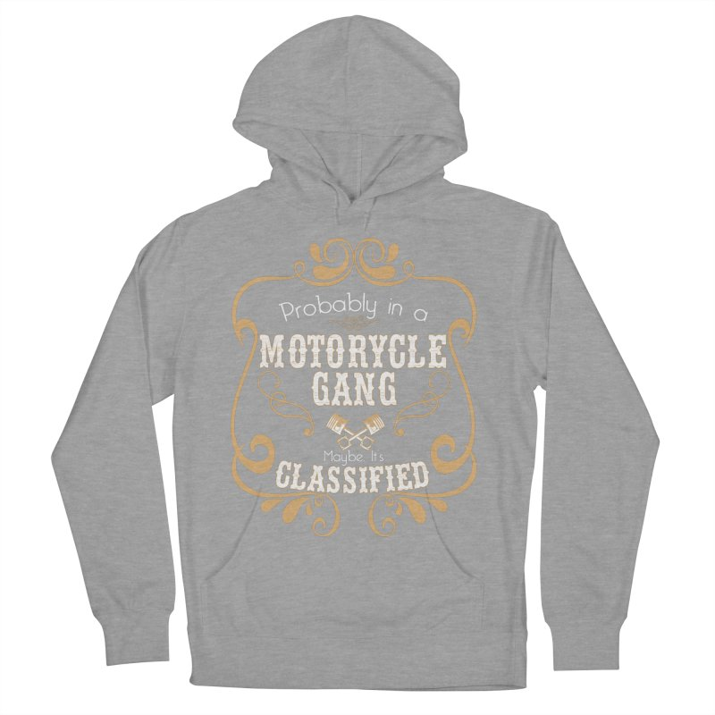 Motorcycle Gang Men's French Terry Pullover Hoody by XXXIII Apparel