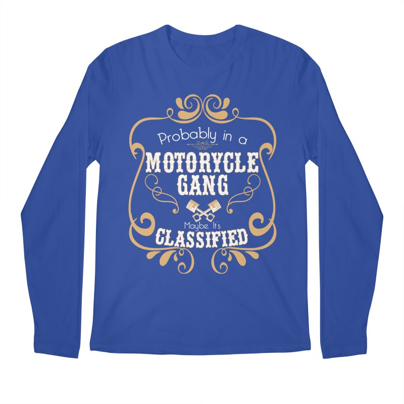 Motorcycle Gang Men's Regular Longsleeve T-Shirt by XXXIII Apparel