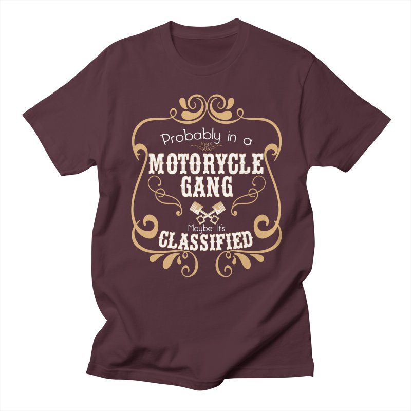 Motorcycle Gang Men's Regular T-Shirt by XXXIII Apparel