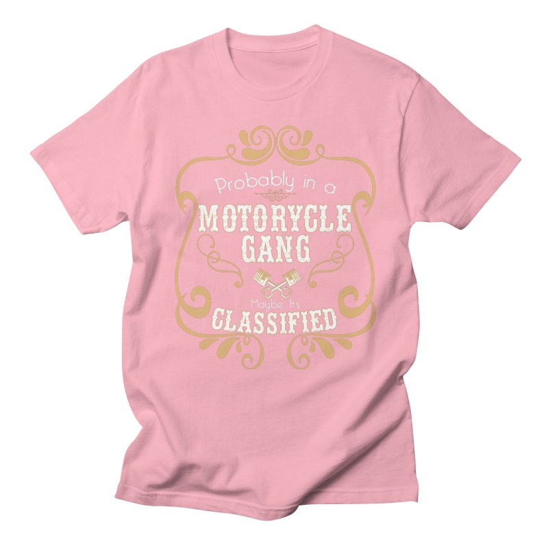 Motorcycle Gang Women's Regular Unisex T-Shirt by XXXIII Apparel