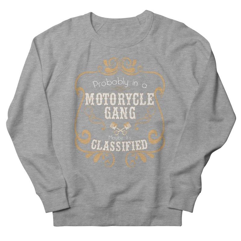 Motorcycle Gang Women's French Terry Sweatshirt by XXXIII Apparel