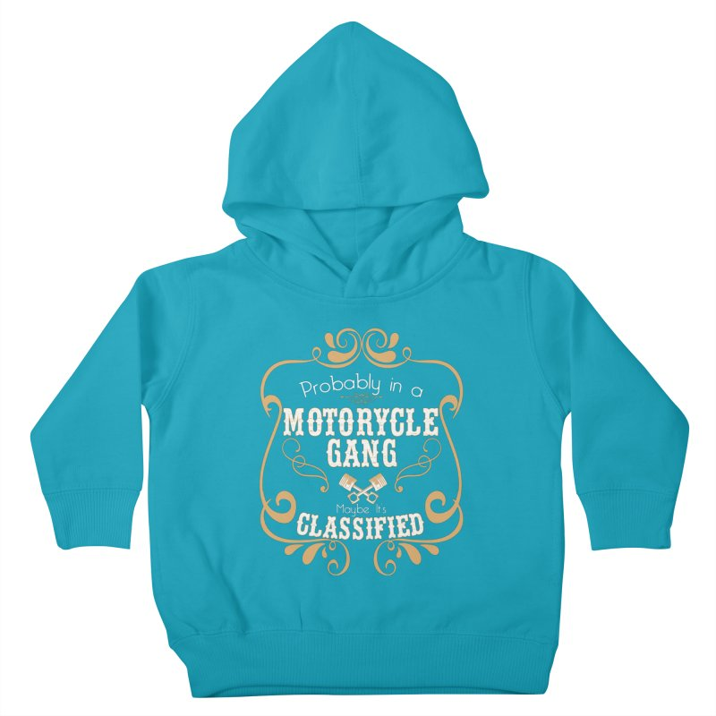 Motorcycle Gang Kids Toddler Pullover Hoody by XXXIII Apparel