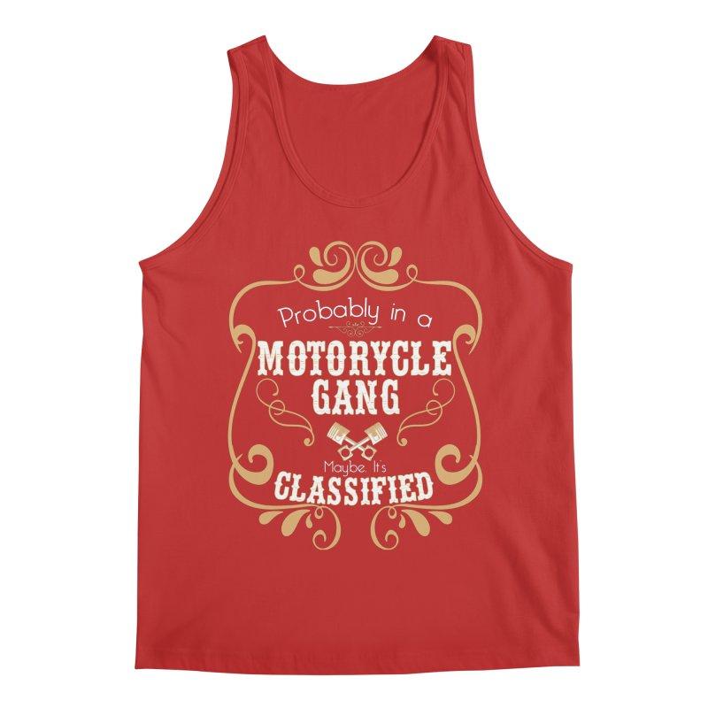 Motorcycle Gang Men's Regular Tank by XXXIII Apparel