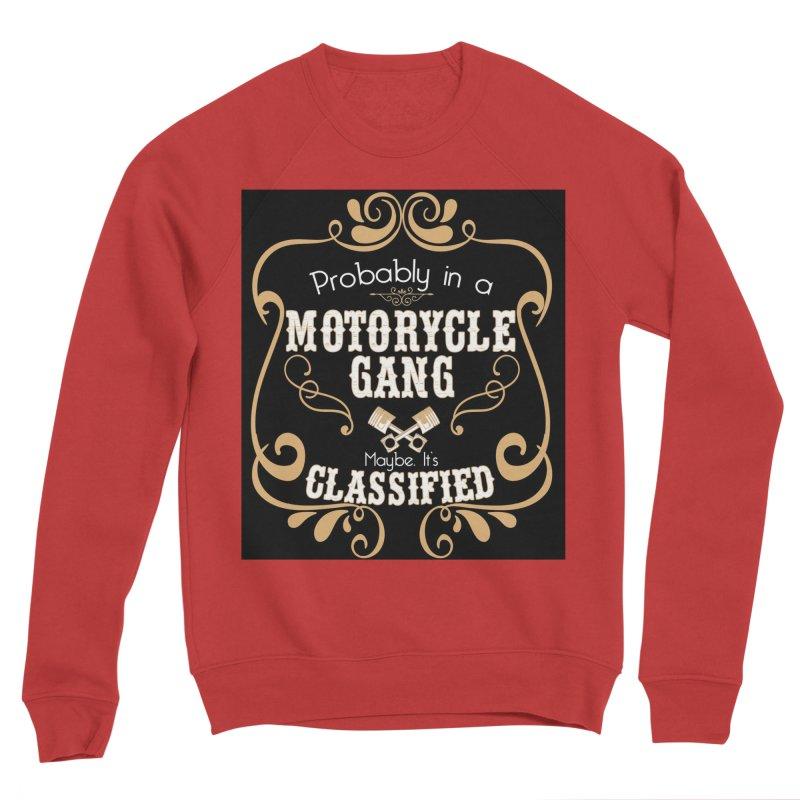 Motorcycle Gang - Dark Men's Sponge Fleece Sweatshirt by XXXIII Apparel