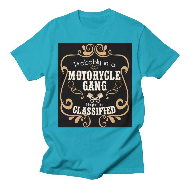 Motorcycle Gang - Dark Men's Regular T-Shirt by XXXIII Apparel