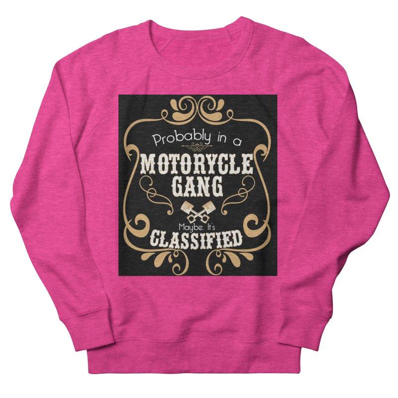 Motorcycle Gang - Dark Men's French Terry Sweatshirt by XXXIII Apparel