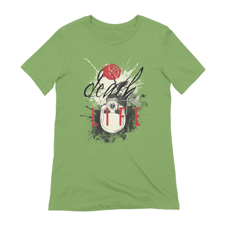 Death to Life Women's Extra Soft T-Shirt by XXXIII Apparel