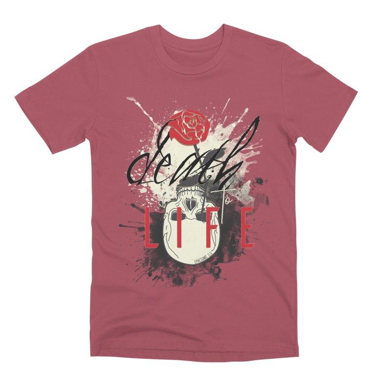 Death to Life Men's Premium T-Shirt by XXXIII Apparel