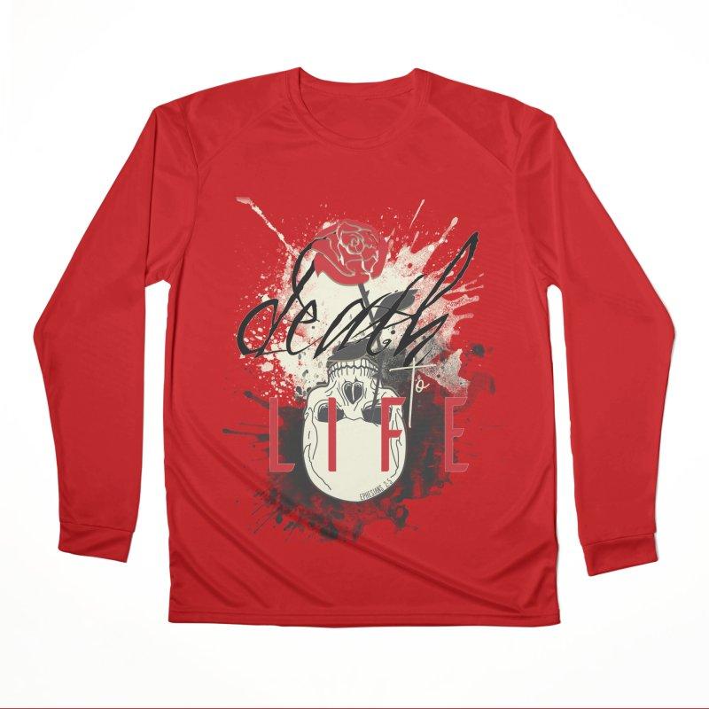 Death to Life Women's Performance Unisex Longsleeve T-Shirt by XXXIII Apparel