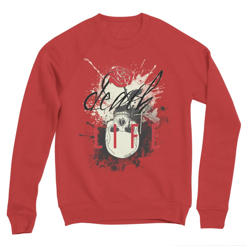 Death to Life Men's Sponge Fleece Sweatshirt by XXXIII Apparel