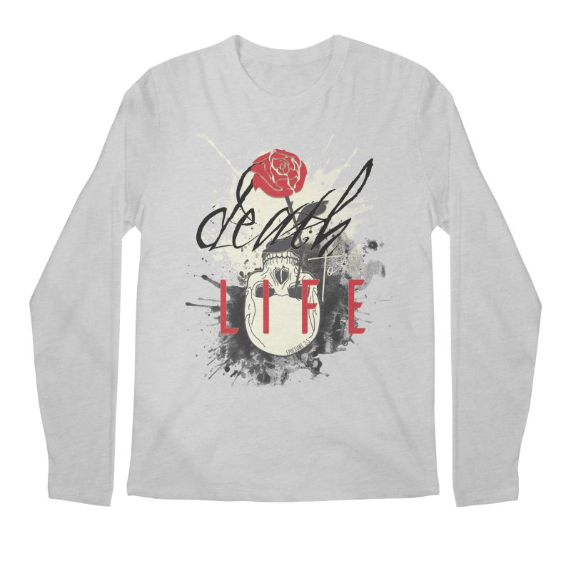 Death to Life Men's Regular Longsleeve T-Shirt by XXXIII Apparel