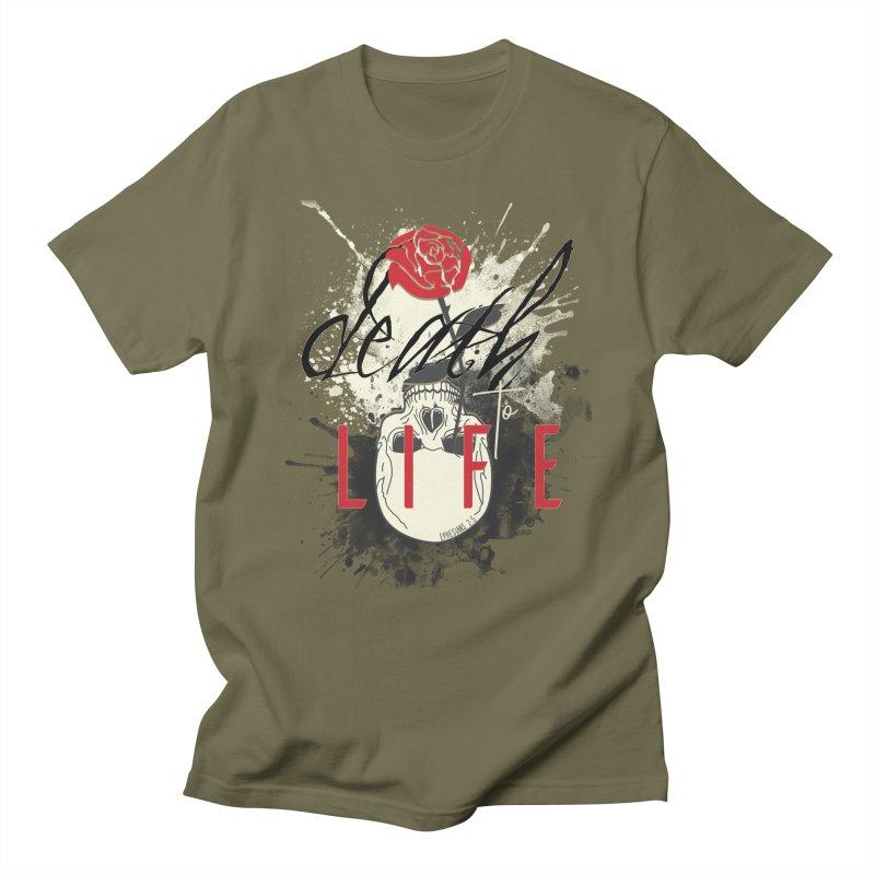 Death to Life Men's Regular T-Shirt by XXXIII Apparel