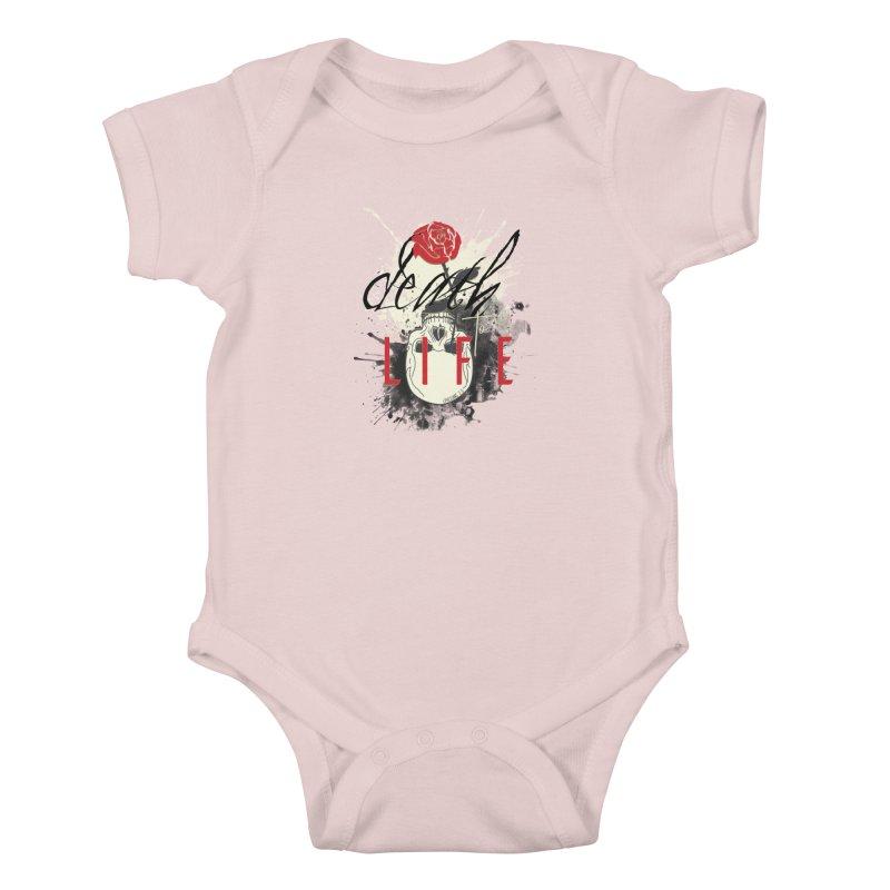 Death to Life Kids Baby Bodysuit by XXXIII Apparel