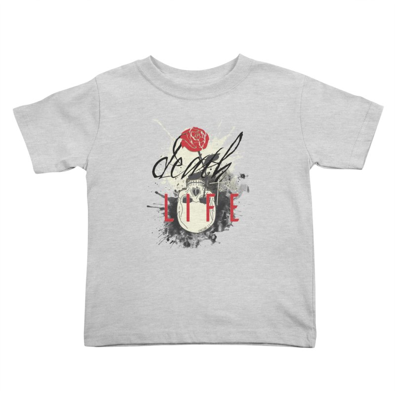 Death to Life Kids Toddler T-Shirt by XXXIII Apparel