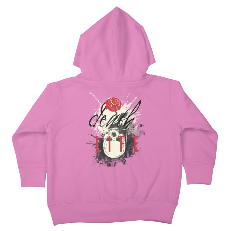 Death to Life Kids Toddler Zip-Up Hoody by XXXIII Apparel