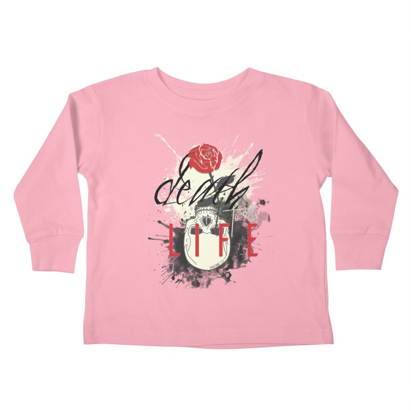 Death to Life Kids Toddler Longsleeve T-Shirt by XXXIII Apparel