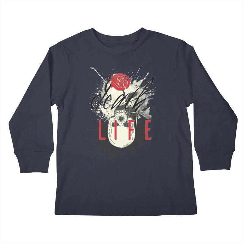 Death to Life Kids Longsleeve T-Shirt by XXXIII Apparel