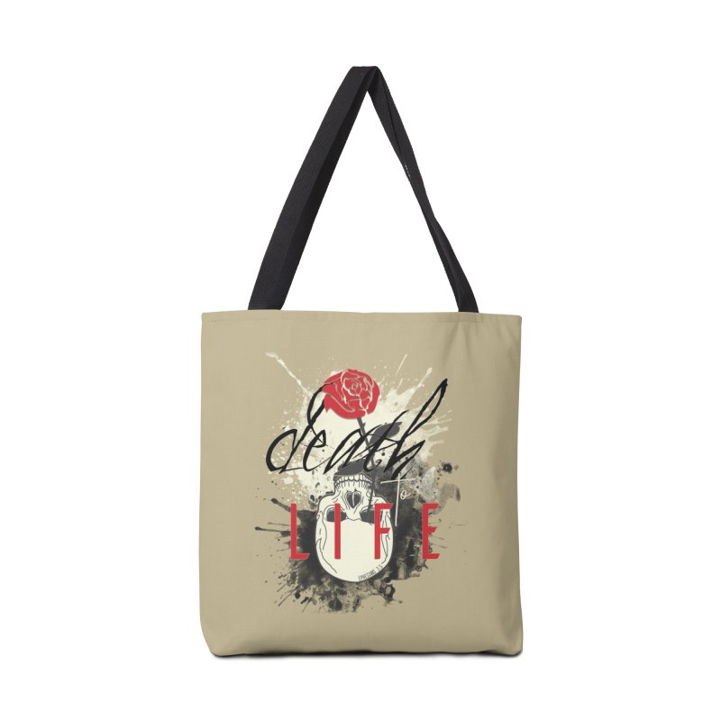 Death to Life Accessories Tote Bag Bag by XXXIII Apparel