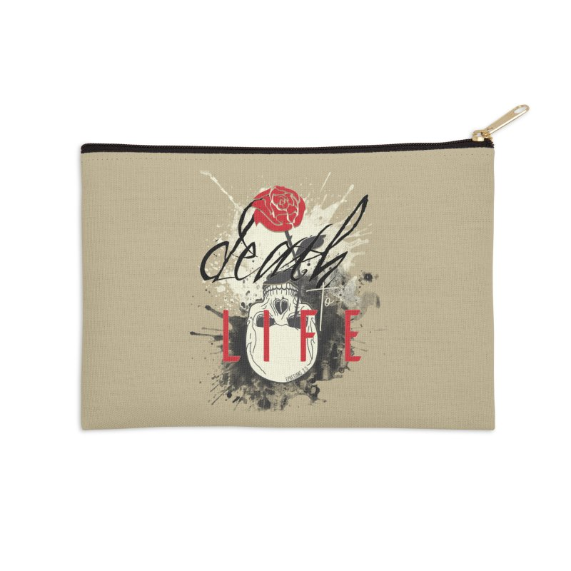 Death to Life Accessories Zip Pouch by XXXIII Apparel