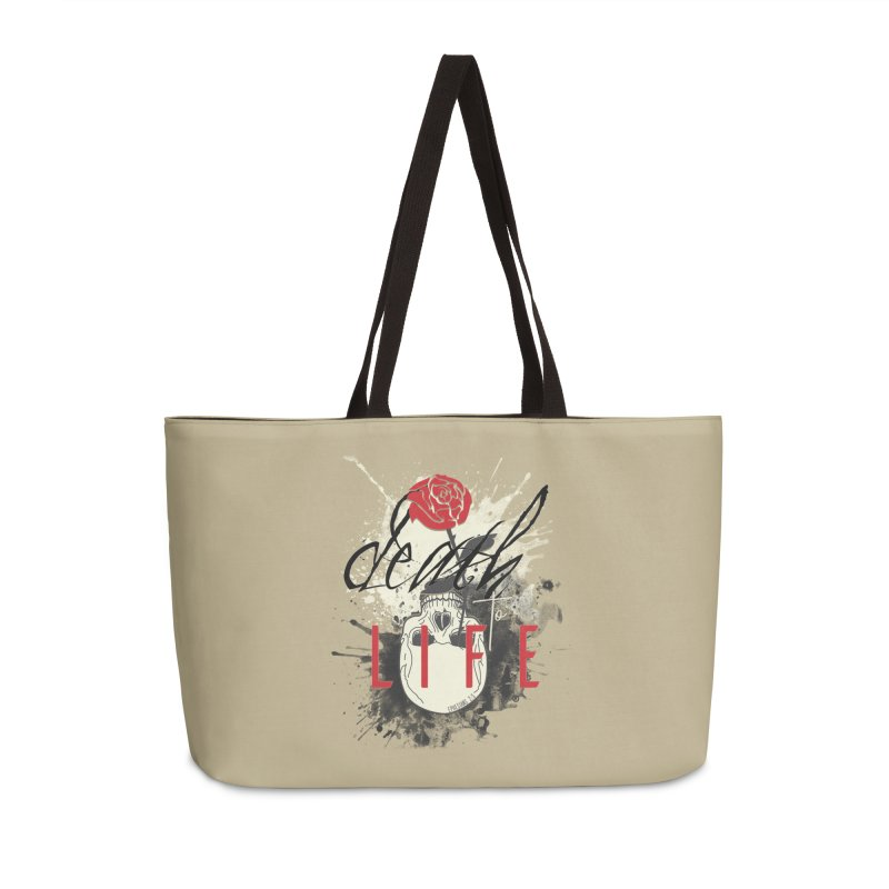 Death to Life Accessories Weekender Bag Bag by XXXIII Apparel