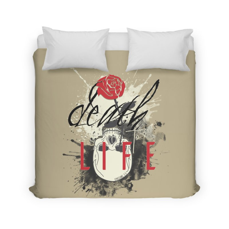 Death to Life Home Duvet by XXXIII Apparel