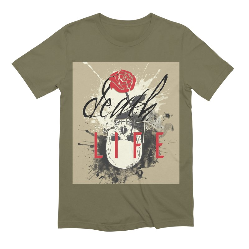 Death to Life Men's Extra Soft T-Shirt by XXXIII Apparel