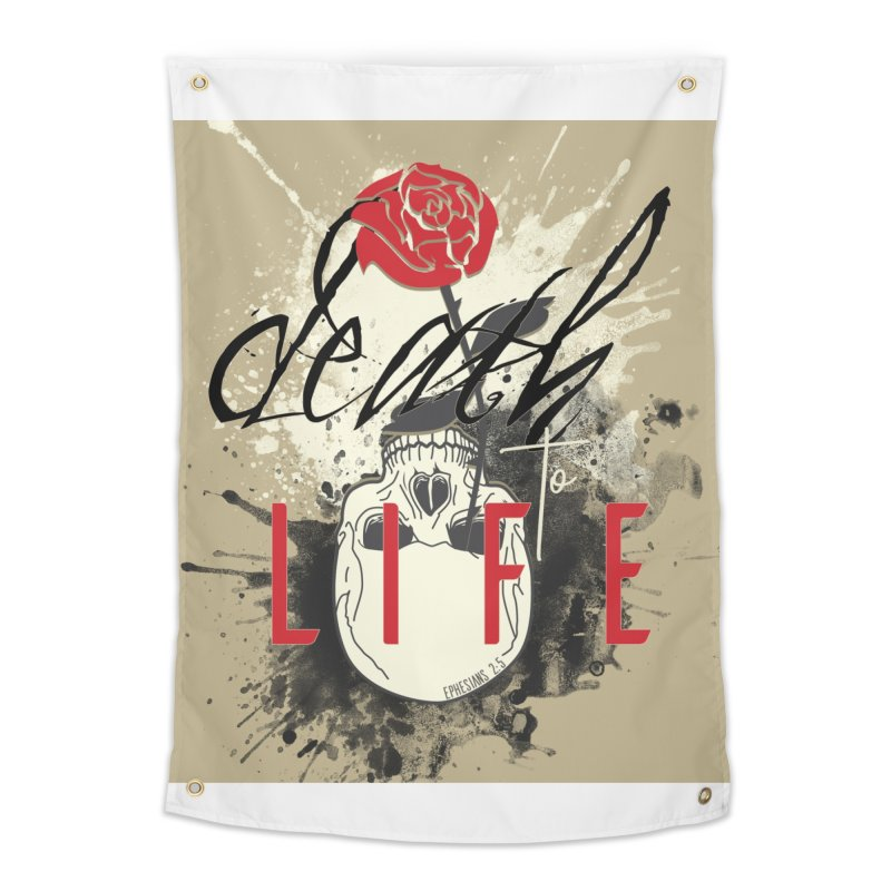 Death to Life Home Tapestry by XXXIII Apparel