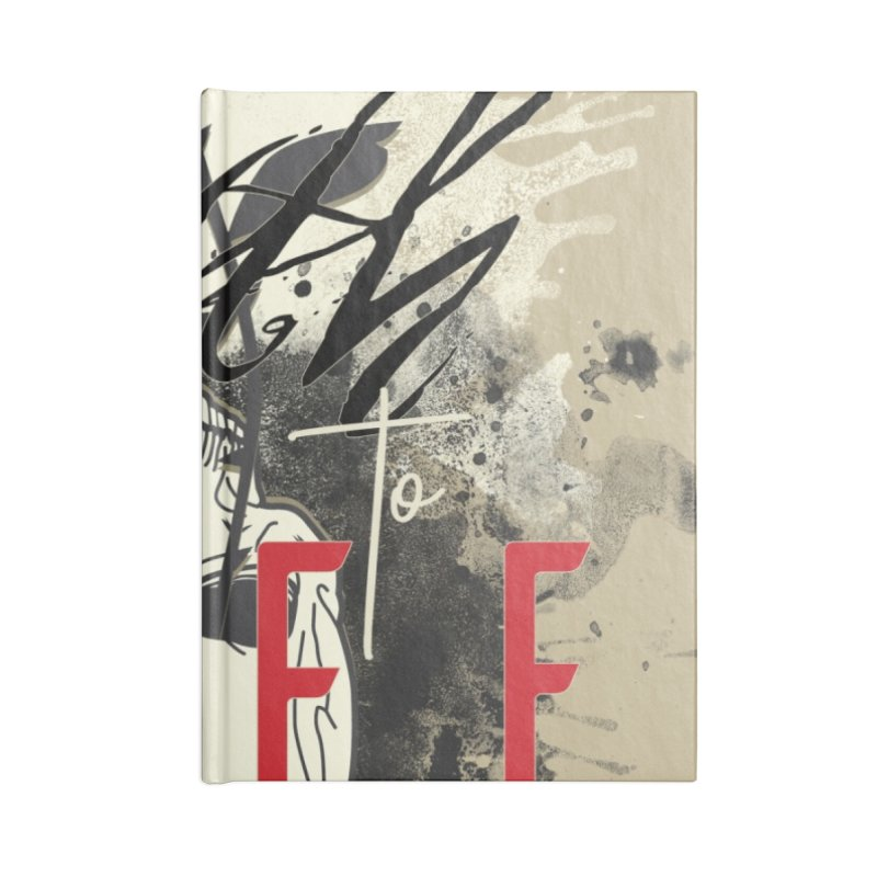 Death to Life Accessories Blank Journal Notebook by XXXIII Apparel