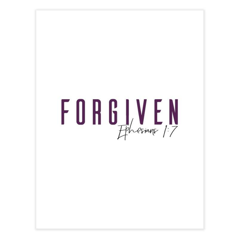 Forgiven Home Fine Art Print by XXXIII Apparel