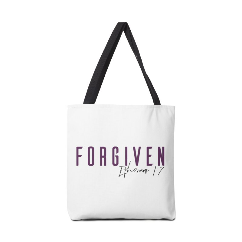 Forgiven Accessories Tote Bag Bag by XXXIII Apparel