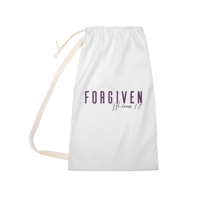 Forgiven Accessories Laundry Bag Bag by XXXIII Apparel
