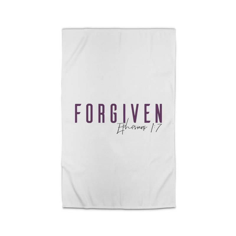 Forgiven Home Rug by XXXIII Apparel