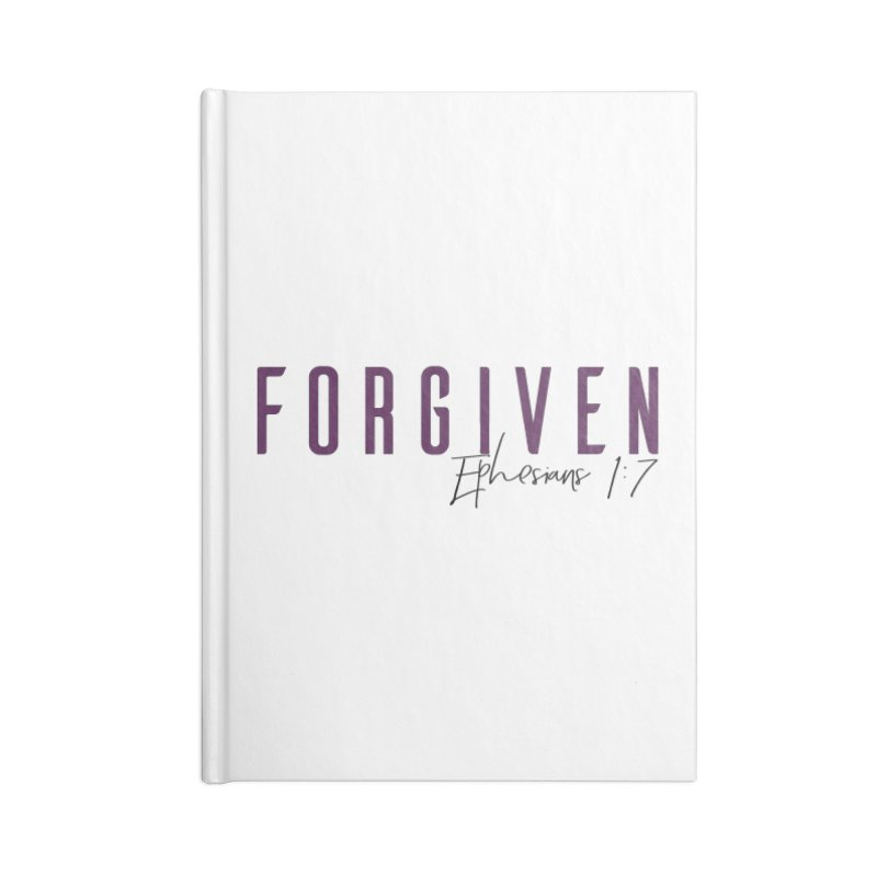 Forgiven Accessories Blank Journal Notebook by XXXIII Apparel