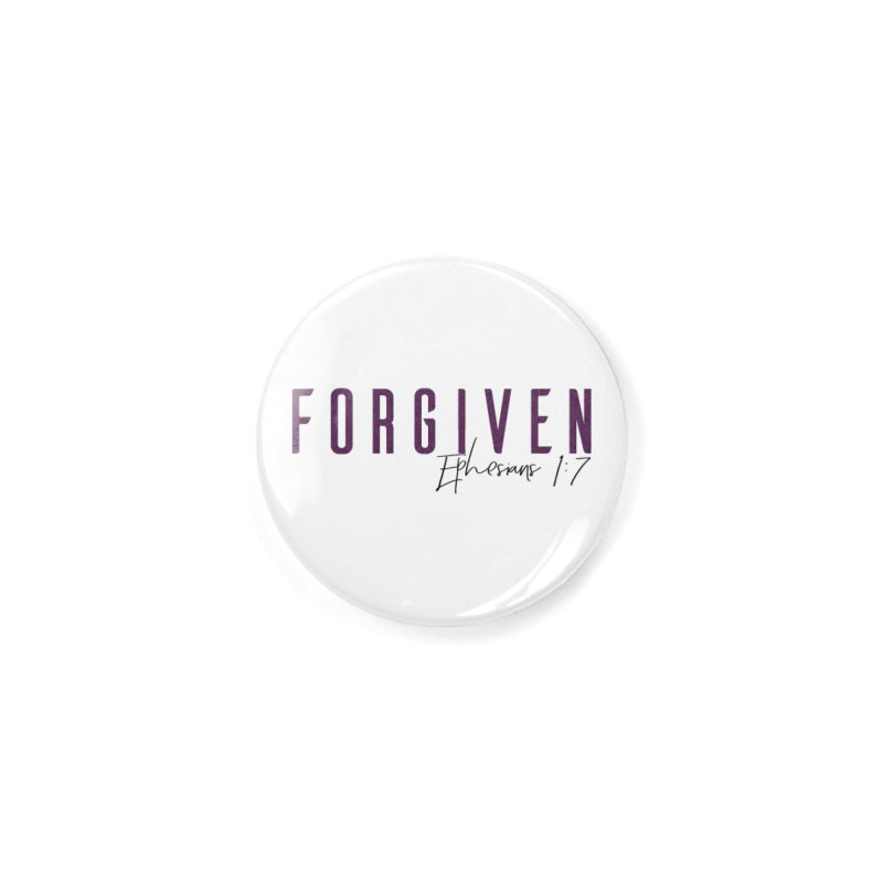 Forgiven Accessories Button by XXXIII Apparel