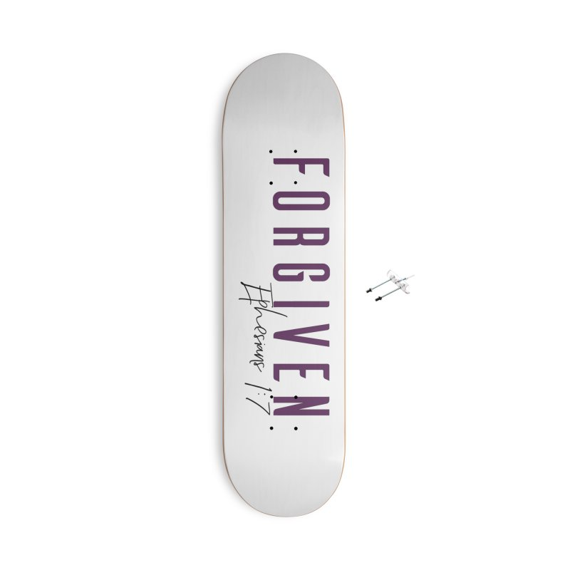 Forgiven Accessories With Hanging Hardware Skateboard by XXXIII Apparel