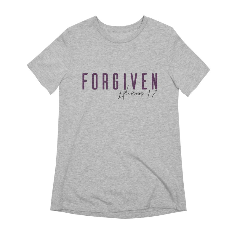 Forgiven Women's Extra Soft T-Shirt by XXXIII Apparel