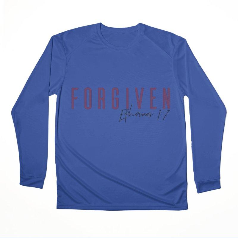 Forgiven Women's Performance Unisex Longsleeve T-Shirt by XXXIII Apparel