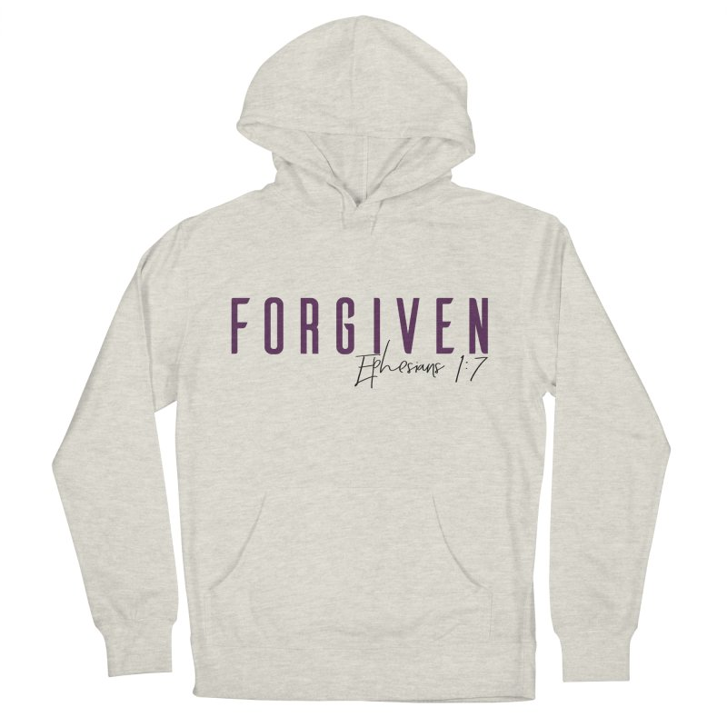 Forgiven Women's French Terry Pullover Hoody by XXXIII Apparel