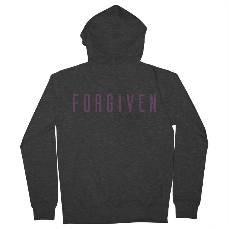 Forgiven Women's French Terry Zip-Up Hoody by XXXIII Apparel