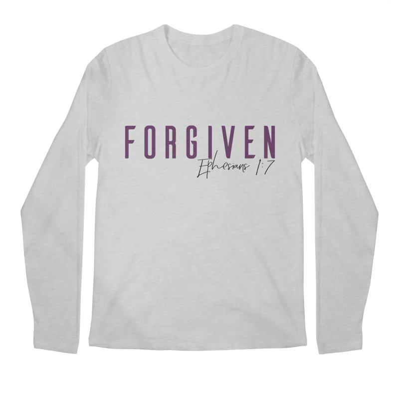 Forgiven Men's Regular Longsleeve T-Shirt by XXXIII Apparel