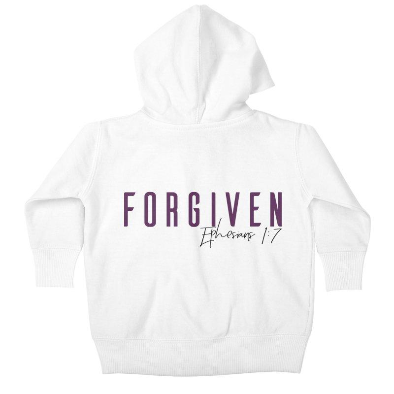 Forgiven Kids Baby Zip-Up Hoody by XXXIII Apparel