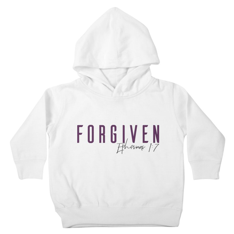 Forgiven Kids Toddler Pullover Hoody by XXXIII Apparel