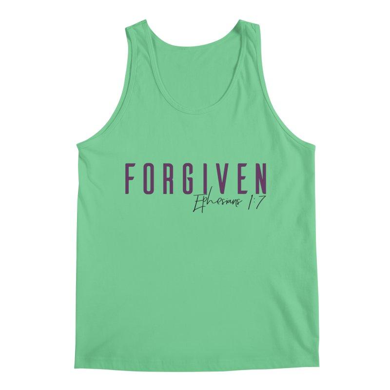 Forgiven Men's Regular Tank by XXXIII Apparel