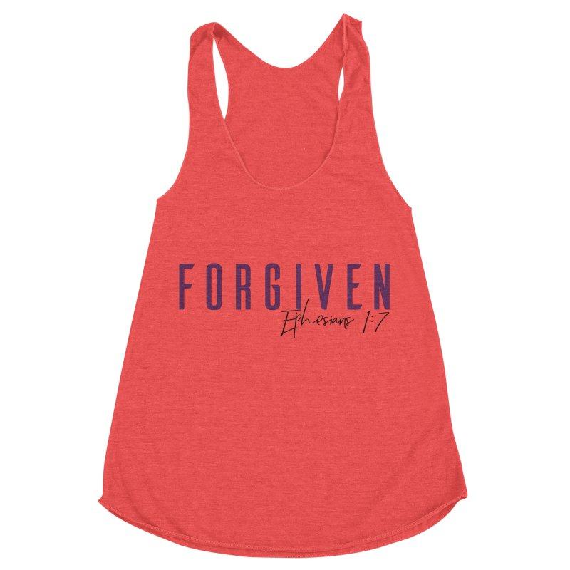 Forgiven Women's Racerback Triblend Tank by XXXIII Apparel