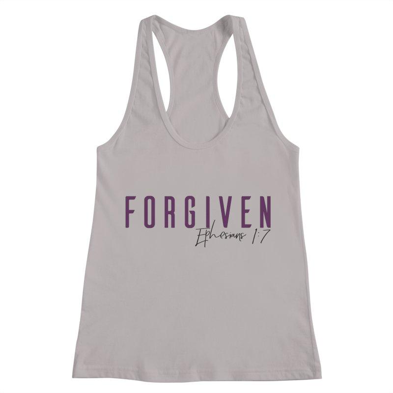Forgiven Women's Racerback Tank by XXXIII Apparel