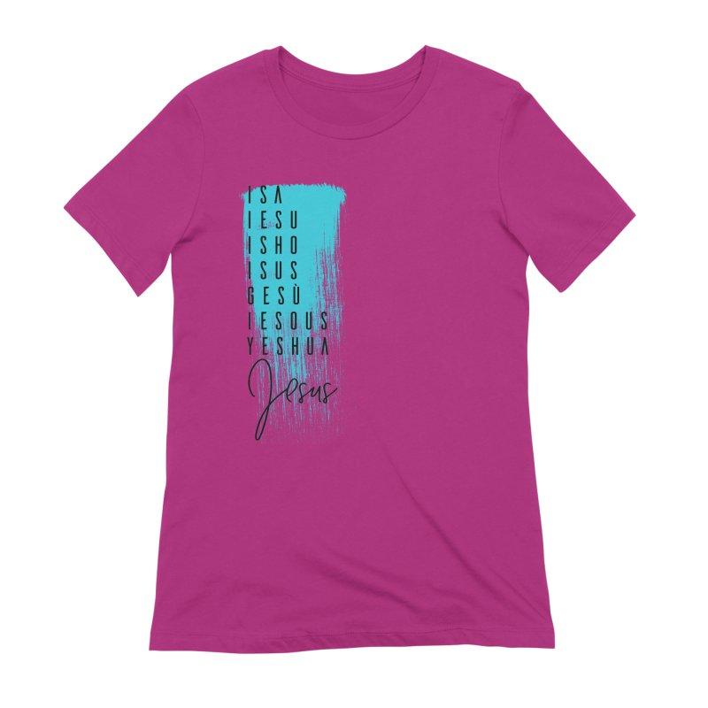Jesus Women's Extra Soft T-Shirt by XXXIII Apparel