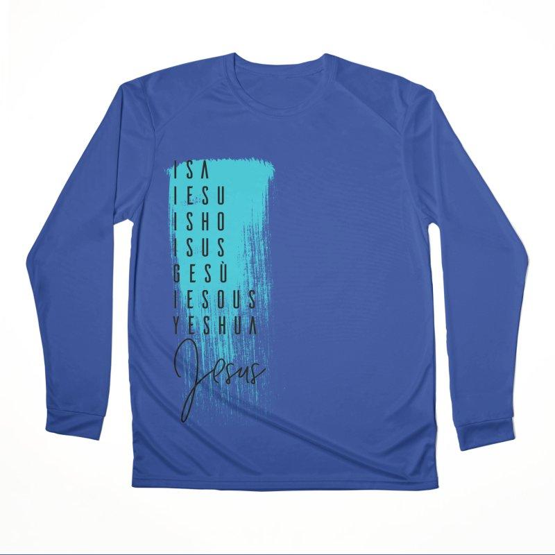 Jesus Men's Performance Longsleeve T-Shirt by XXXIII Apparel