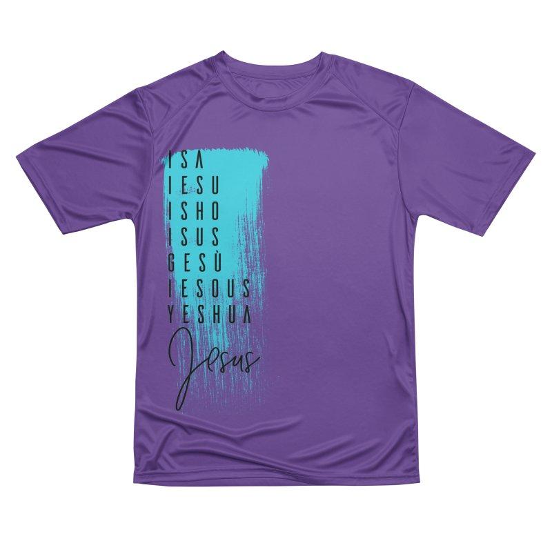 Jesus Women's Performance Unisex T-Shirt by XXXIII Apparel