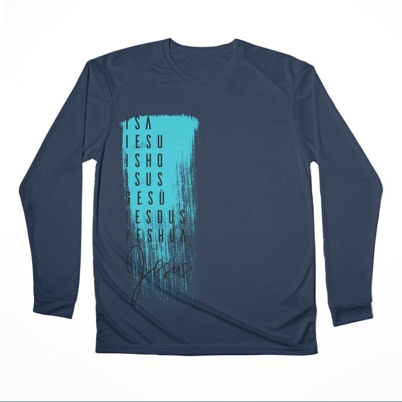 Jesus Women's Performance Unisex Longsleeve T-Shirt by XXXIII Apparel
