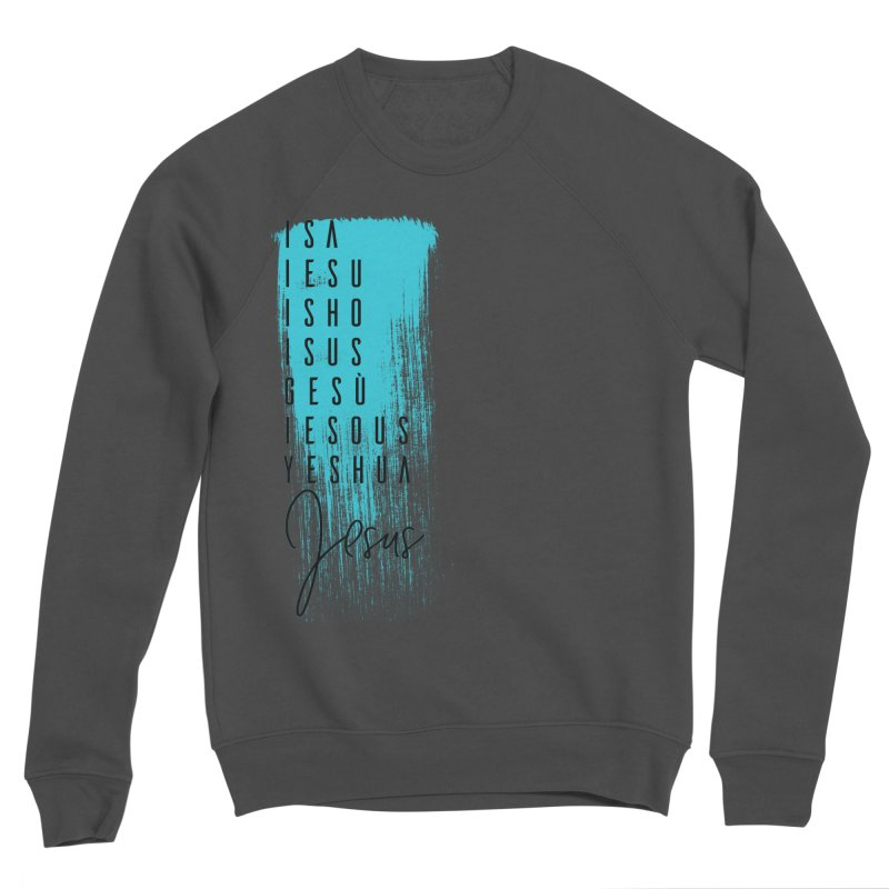 Jesus Men's Sponge Fleece Sweatshirt by XXXIII Apparel